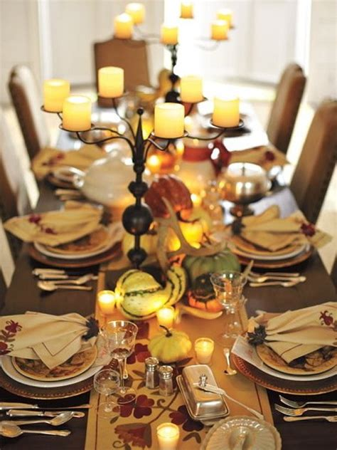 7 Gorgeous Thanksgiving Decor Items by Gorgeous And Awesome Thanksgiving Table Centerpieces