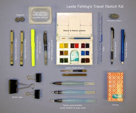 sketchbook kit everyday artist travel sketch kit travel sketches