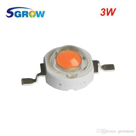 3w diode led grow light 2017 3w spectrum led grow chip led grow lights broad spectrum 400nm 840nm led diode for