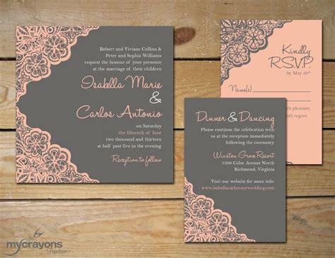 diy pink and gold wedding invitations best 25 coral wedding invitations ideas on