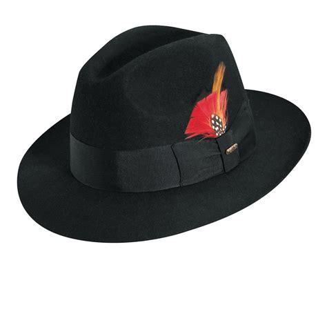Classic Hat scala classic wool felt fedora hats