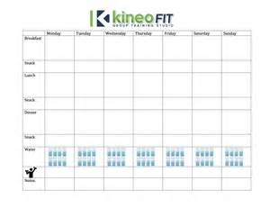 meal planning worksheet weight loss challenge week 1 meal planning 101 kineo fit