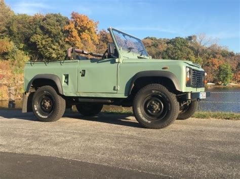 old land rover defender for sale land rover defender 90 galvanized chassis convertible