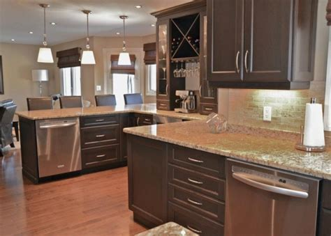 stunning stain cabinets with countertops mylen