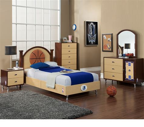 kids bedroom in a box dreamfurniture com nba basketball dallas mavericks