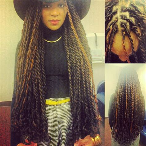 senegalese twist with brown in the front and black in the back rapunzel senegalese twist by gigi style senegalese twist