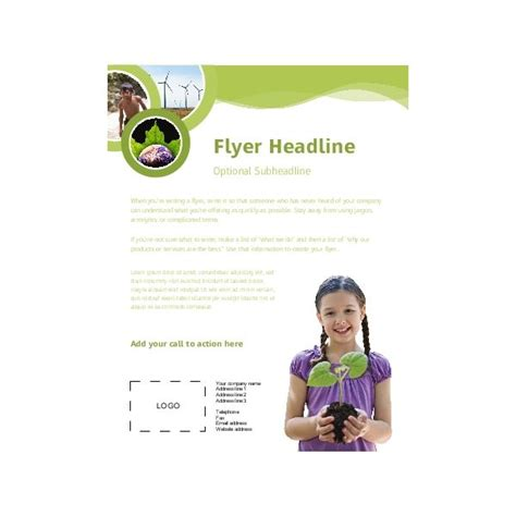 free templates for microsoft publisher flyers
