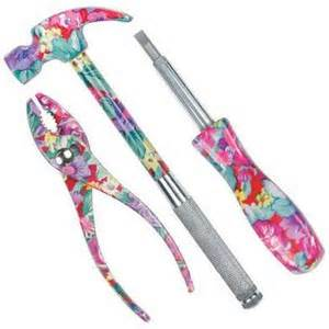 Everyday Tool Kit In Pink Or Blue by Pink Saturday Bowerbirdz