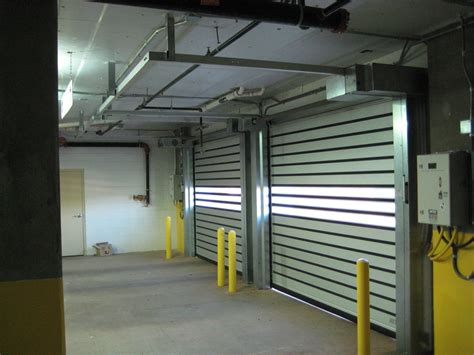 Overhead Door Products Guide Low Headroom Sectional And Rolling Door Products For Tight Space Environments