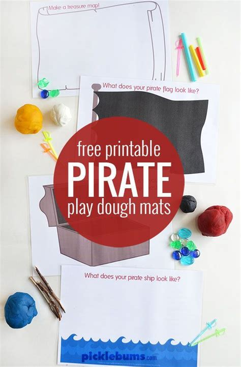 playdough mats booklet entire booklet printable 17 best images about pirate play on pinterest science