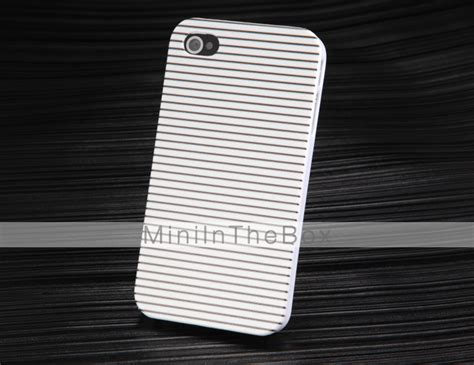 Iphone 4 4s Chelsea Stripe White Hardcase black white stripes pattern for iphone 4 4s 1772512 2016 1 99