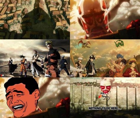 Titan Meme - anime memes attack on titan images