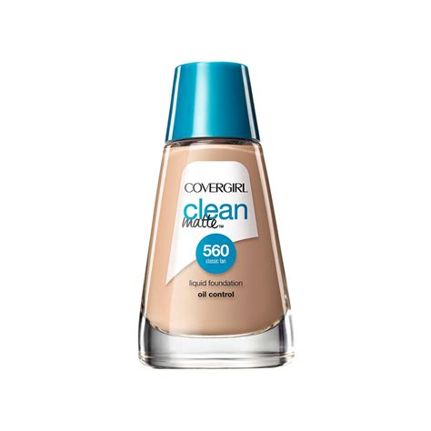 Covergirl Clean Powder Foundation covergirl clean matte liquid foundation review