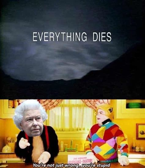 queen elizabeth    meme treatment