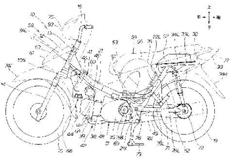 Bagasi Depan Motor Bebek tmcblog 187 desain patent bebek honda yang baru masuk