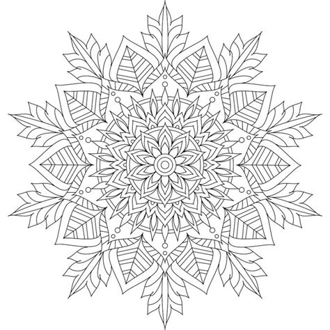 mandala coloring pages winter best 25 mandalas to color ideas on mandalas