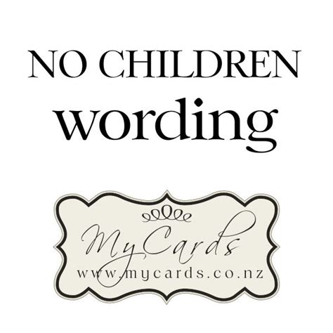 wedding invitations no children no children wording mycards wedding invitations
