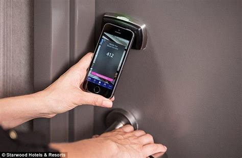 How To Unlock Bedroom Door Without Key smartphones are the new hotel room key at starwood hotels