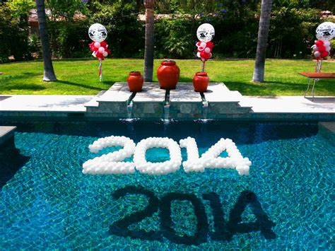 floating christmas decorations for pool