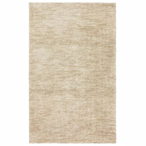 mohawk home area rugs shop mohawk home beige rectangular indoor tufted area rug common 8 x 10 actual 96 in w x 120
