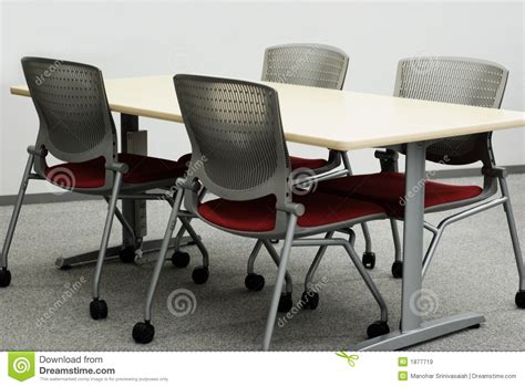 free table and chairs office tables and chairs royalty free stock images image