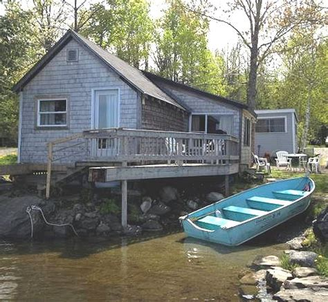 sebec lake vacation cottage lakefront rental c in maine