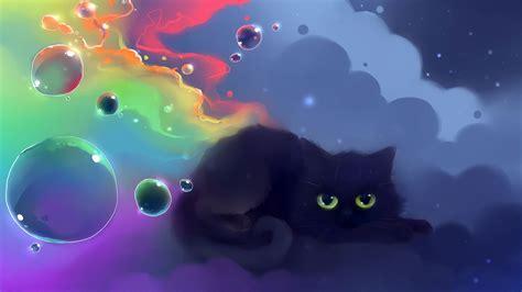 cute anime cat wallpapers top  cute anime cat