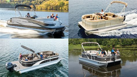 best small pontoon boats 2017 15 top pontoon deck boats for 2018 powerboating