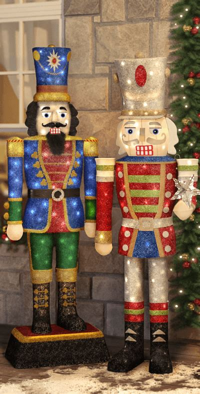decorative nutcrackers for christmas outdoor decorations