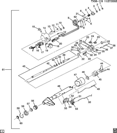 chevy truck steering column diagram 1985 chevy truck steering column diagram pictures to pin
