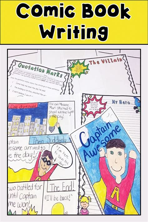 Writing Activity Book the 72 best images about comic stories on quotation marks graphic novels and