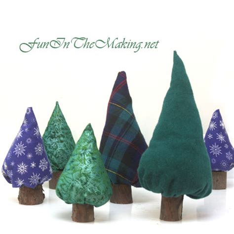 how to make fabric trees crafts recycled stuff in the