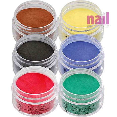 acrylic color powder artisan colored acrylic nail powder primary colors