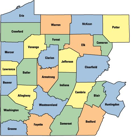western pa map utica gas production in pa s northern tier quot inches quot up