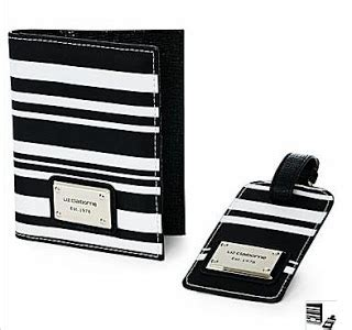 Fossil Plaid Passport Wallet New With Tag boutique malaysia liz claiborne passport holder luggage tag preorder