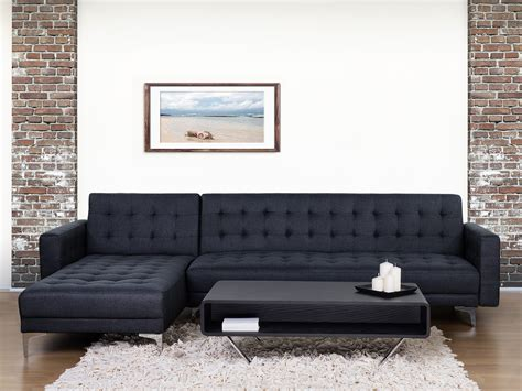 sofa beds aberdeen sofa bed corner sofa upholstered anthracite