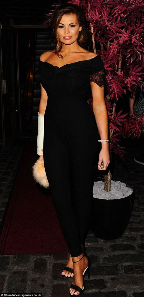She Sis Jamsuit Sephora Jumpsuit wright slips in to a jumpsuit for out with carol daily mail