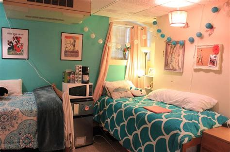 teal dorm rooms ideas  pinterest college girl