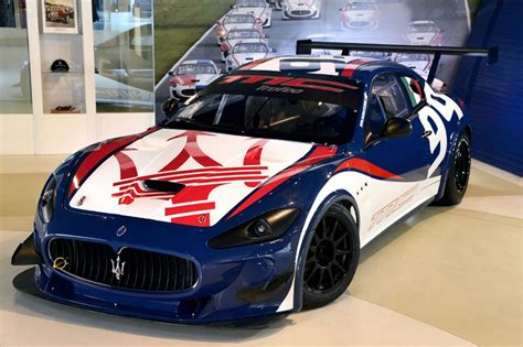Maserati Race Car 2013 Maserati Granturismo Mc Trofeo Race Car Revealed
