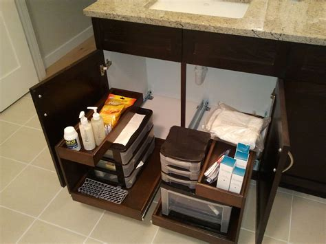Shelfgenie Of Oklahoma Pull Out Shelves Help De Clutter Bathroom Vanity Pull Out Shelves