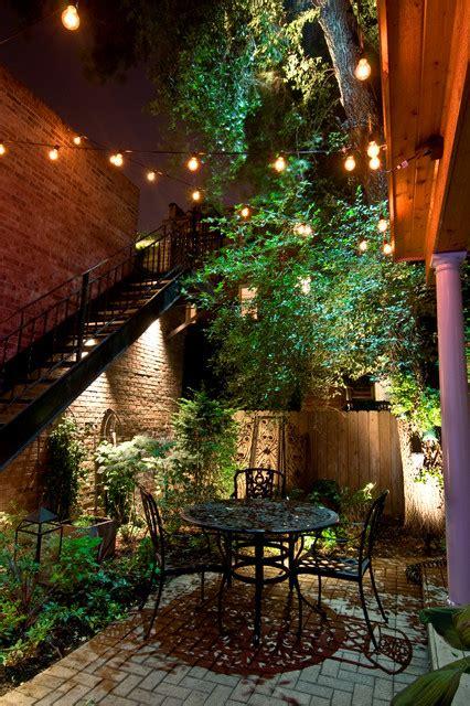 romantic  beautiful outdoor lighting ideas