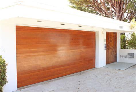 Modern Wood Garage Doors Stain Grade Custom Wood Garage Doors Garage Doors Unlimited