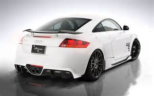 Audi Tt Carbon Fiber Rowen Style Carbon Fiber Rear Wing For Audi Tt Tts In