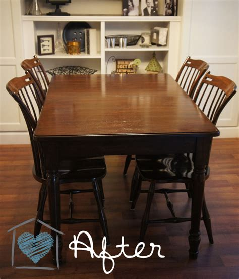 How To Stain A Dining Room Table Gel Stain Redo Diy And Cheap Hometalk
