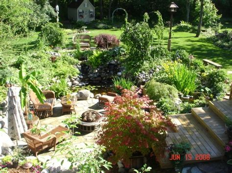 backyard paradise backyard paradise small garden ponds pinterest