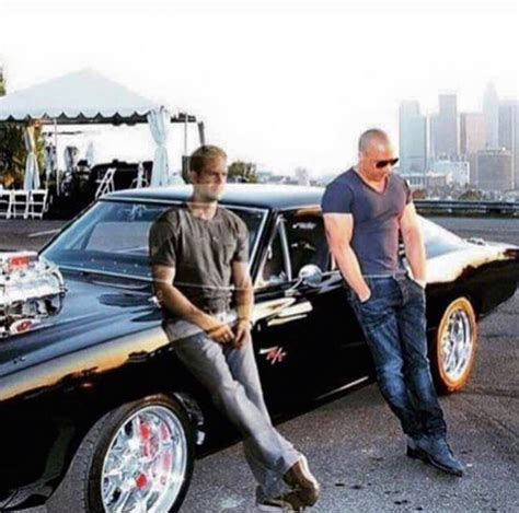fast and furious 8 zonder paul walker vin diesel shares message with fans says it s from paul