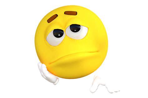 ilustrasi gratis emoticon emoji sedih kuning gambar gratis di pixabay 1634515