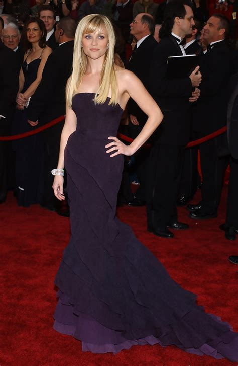 Reese Witherspoon At The 2007 Oscars by Important Question Who Wore The Most Beautiful Oscar