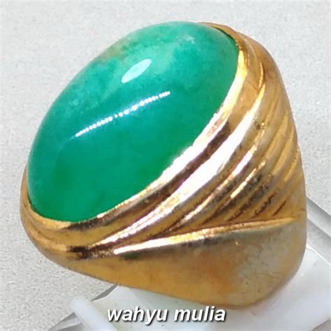 Cincin Batu Akik Bacan Doko batu akik bacan doko asli kode 951 wahyu mulia