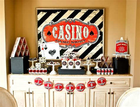 printable casino party decorations casino game night birthday party via kara s party ideas